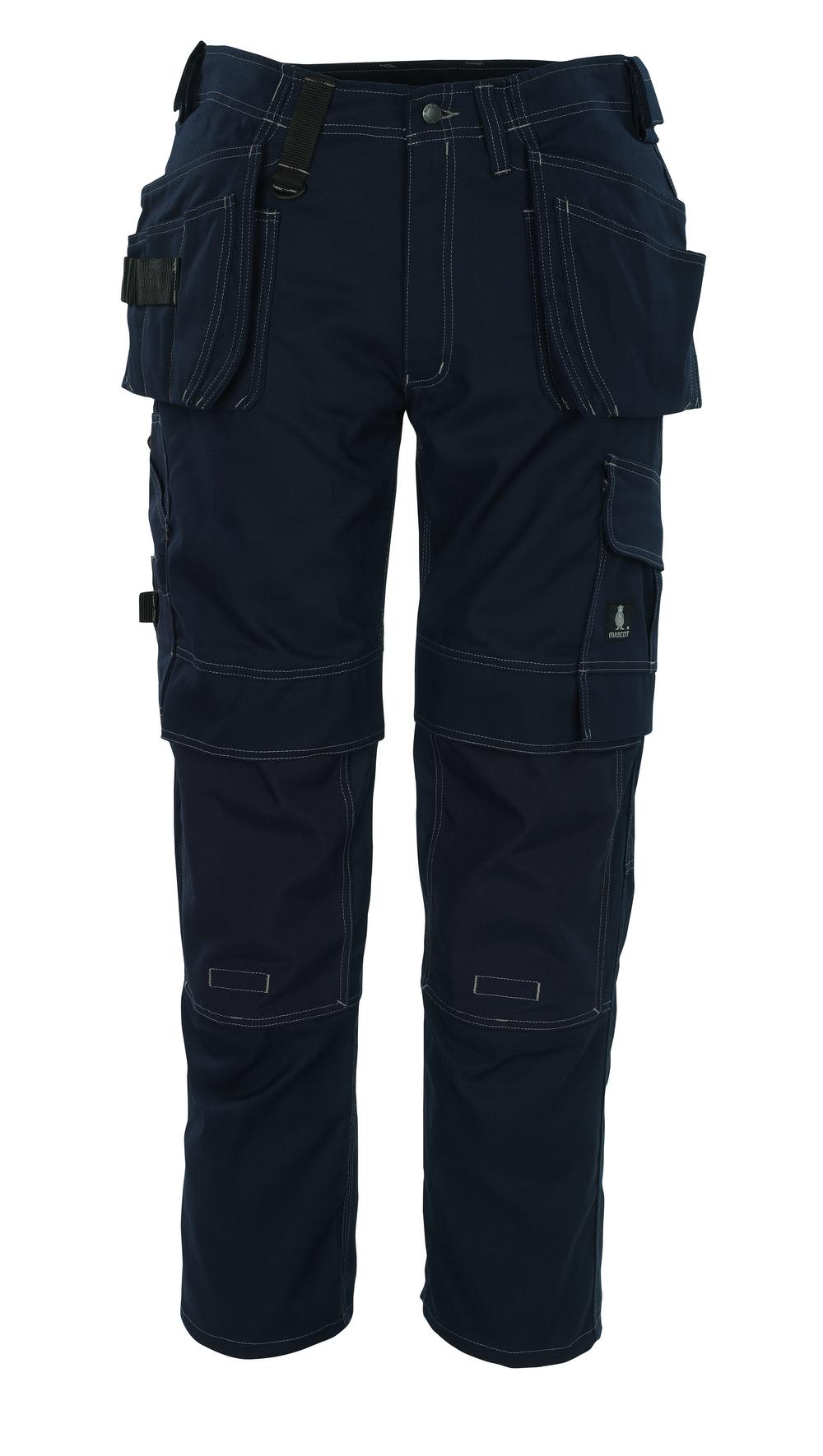 08131-010-01 Pantalones con bolsillos para rodilleras y bolsillos tipo funda - azul marino