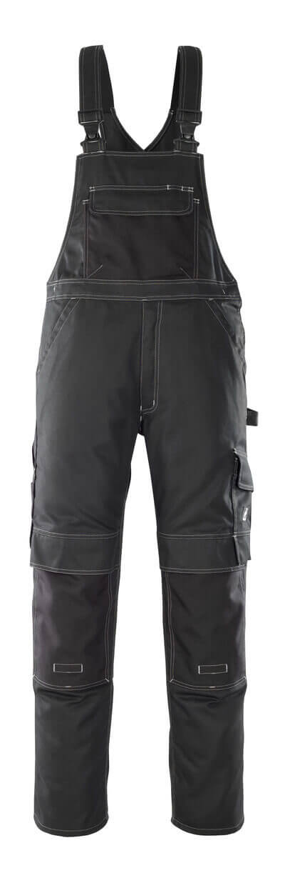 08269-010-09 Peto con bolsillos para rodilleras - negro
