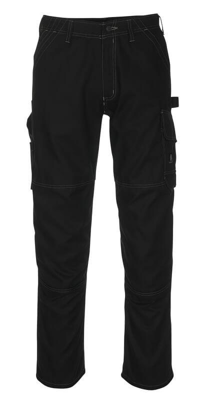 08679-154-09 Pantalones con bolsillos de muslo - negro