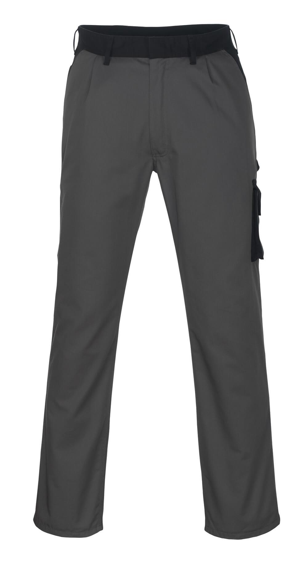 08779-442-8889 Pantalones con bolsillos de muslo - antracita/negro
