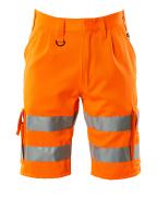 10049-860-14 Pantalones cortos - naranja de alta vis.