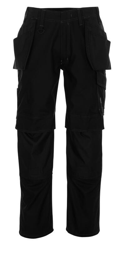 10131-154-010 Pantalones con bolsillos para rodilleras y bolsillos tipo funda - azul marino oscuro