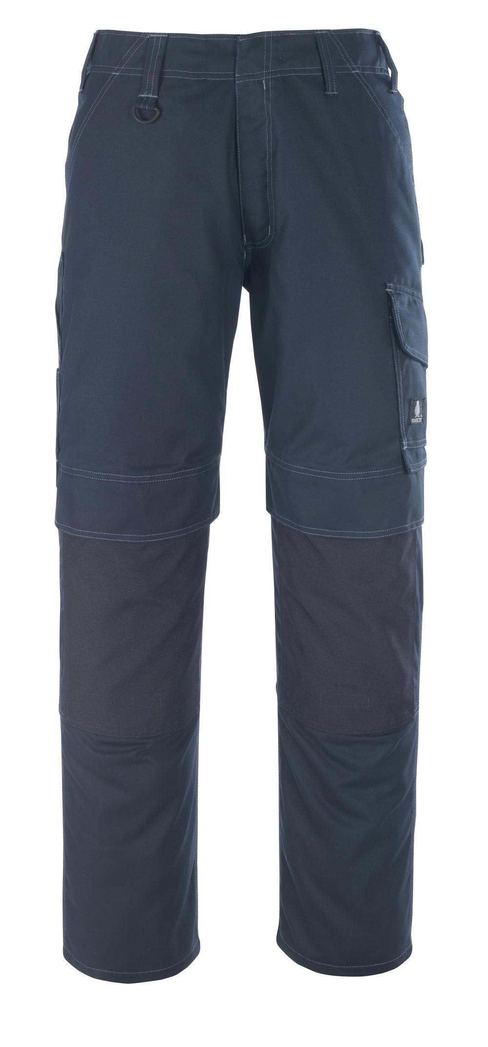 10179-154-010 Pantalones con bolsillos para rodilleras - azul marino oscuro