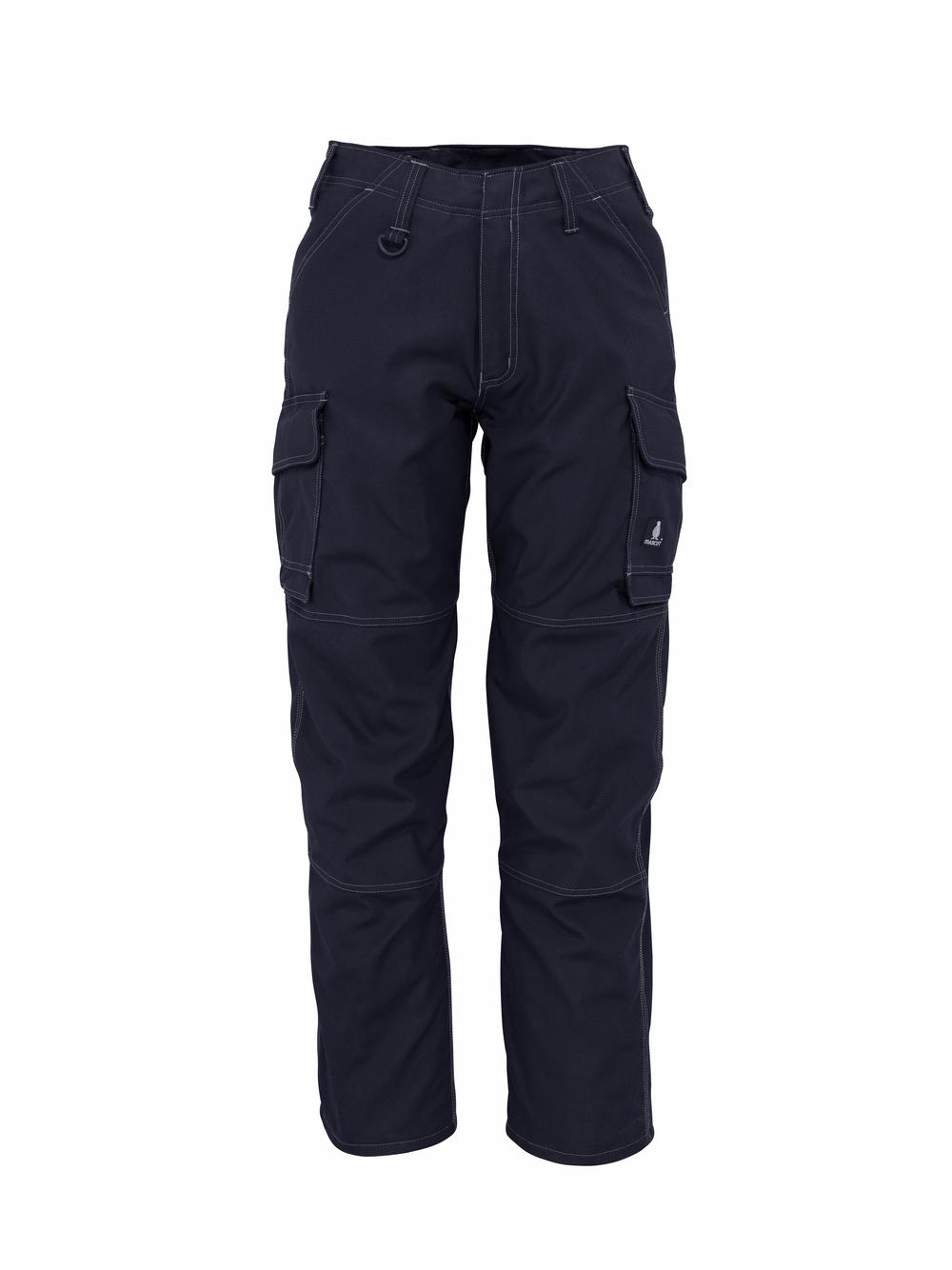 10279-154-010 Pantalones con bolsillos de muslo - azul marino oscuro