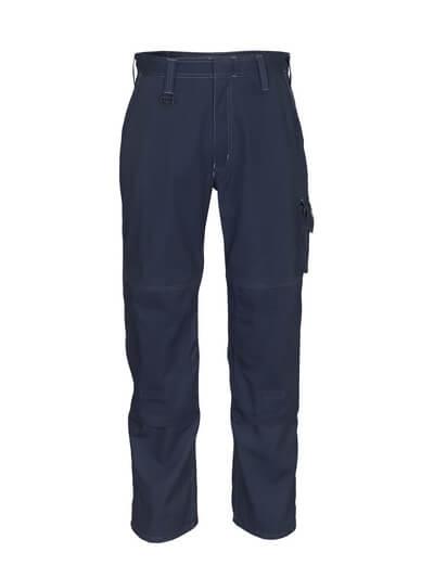 10579-442-010 Pantalones con bolsillos para rodilleras - azul marino oscuro