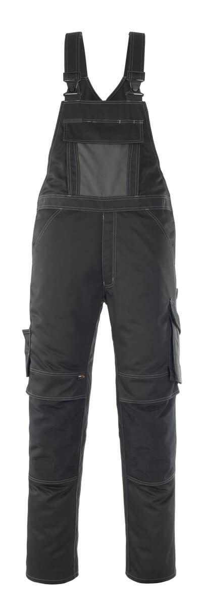 12069-203-0918 Peto con bolsillos para rodilleras - negro/antracita oscuro