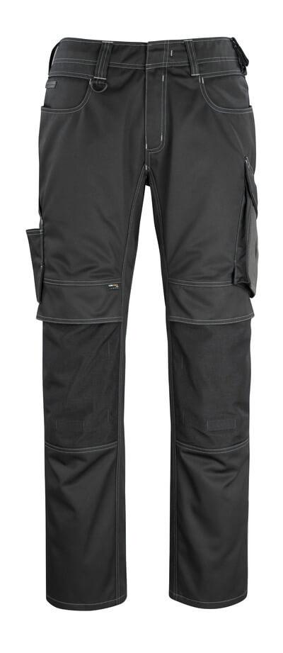 12179-203-0918 Pantalones con bolsillos para rodilleras - negro/antracita oscuro