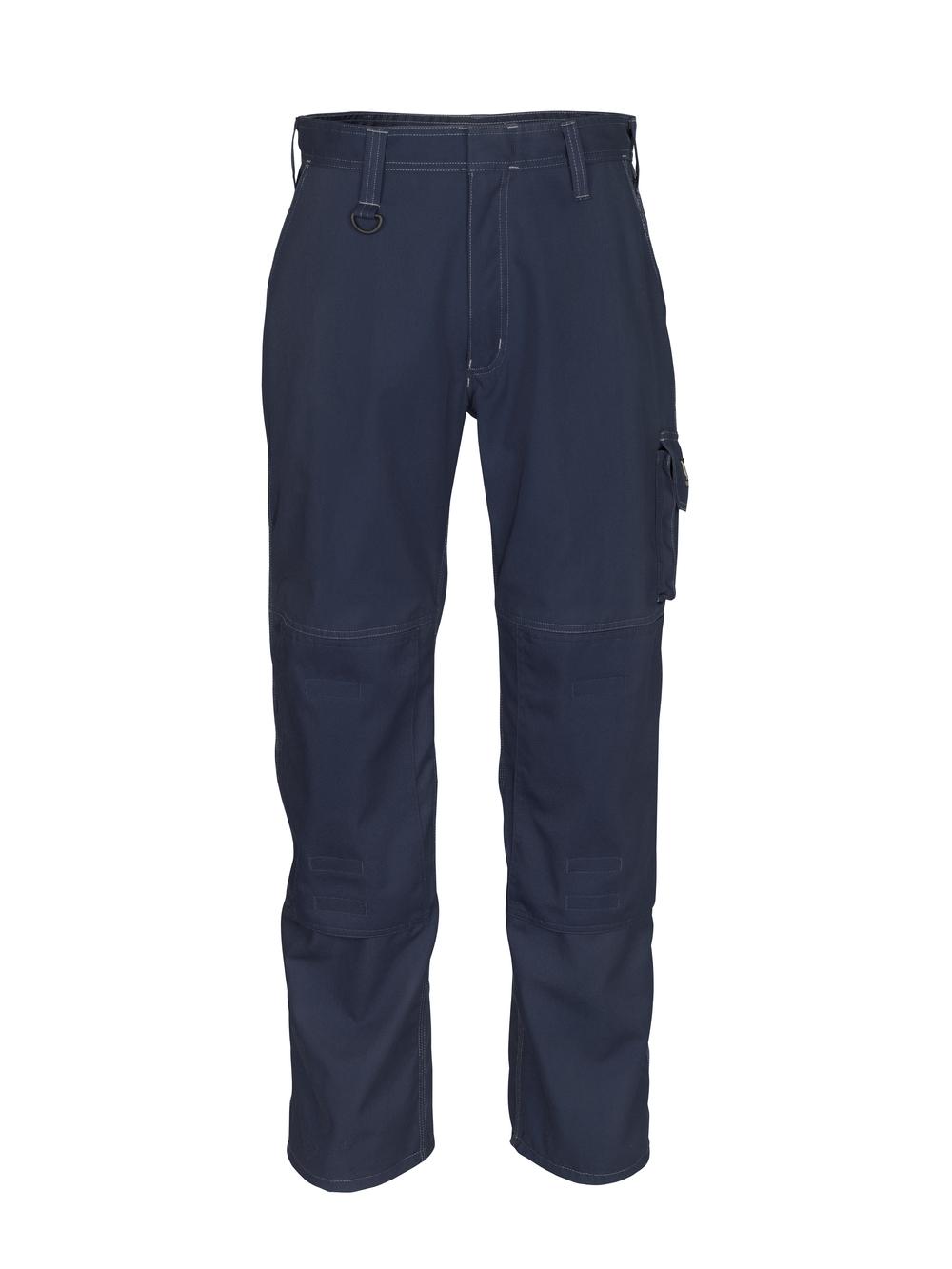 12355-630-010 Pantalones con bolsillos para rodilleras - azul marino oscuro