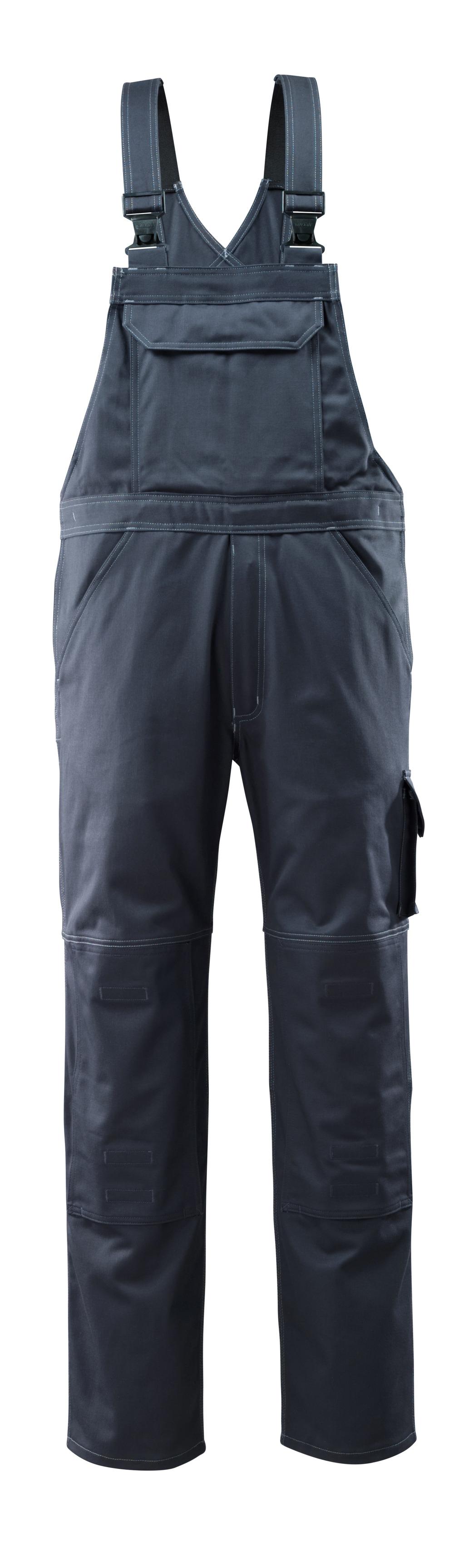 12362-630-010 Peto con bolsillos para rodilleras - azul marino oscuro