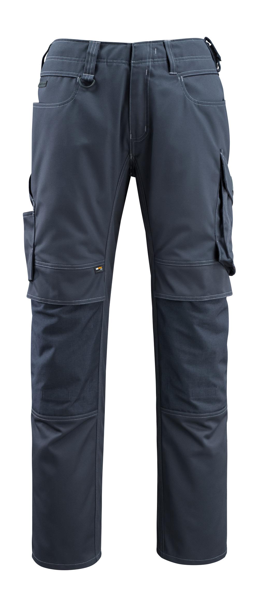 12479-203-010 Pantalones con bolsillos para rodilleras - azul marino oscuro