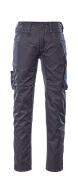 12579-442-01011 Pantalones con bolsillos de muslo - azul marino oscuro/azul real