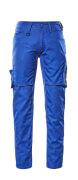 12579-442-11010 Pantalones con bolsillos de muslo - azul real/azul marino oscuro