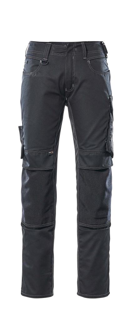 12679-442-0918 Pantalones con bolsillos para rodilleras - negro/antracita oscuro