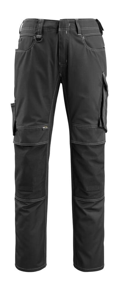 12779-442-010 Pantalones con bolsillos para rodilleras - azul marino oscuro