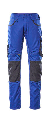 13079-230-1809 Pantalones con bolsillos para rodilleras - antracita oscuro/negro