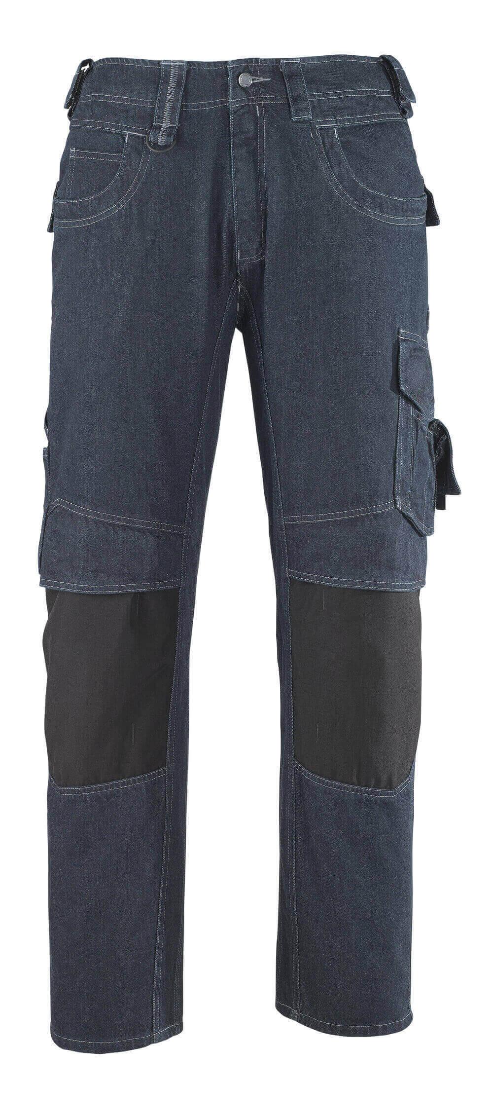13279-207-B52 Vaqueros con bolsillos para rodilleras - azul vaquero