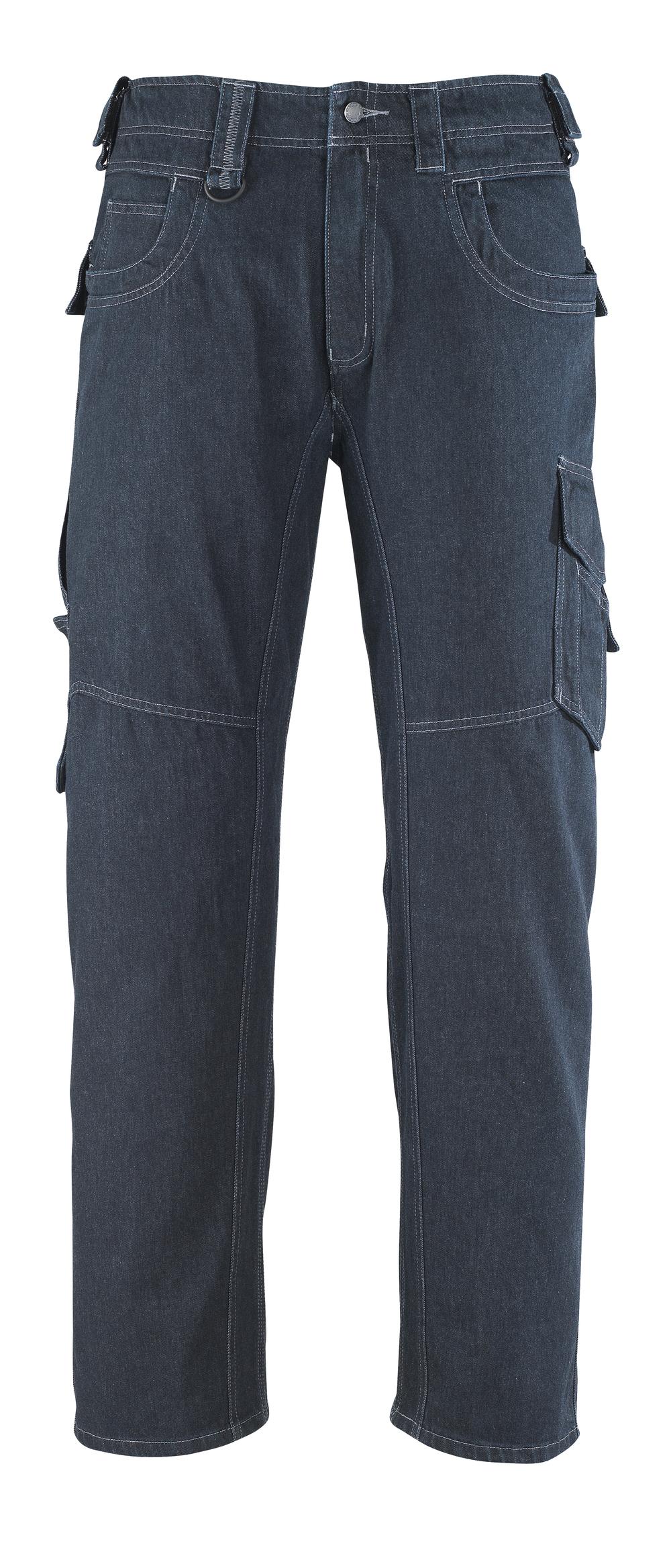 13379-207-B52 Vaqueros con bolsillos de muslo - azul vaquero