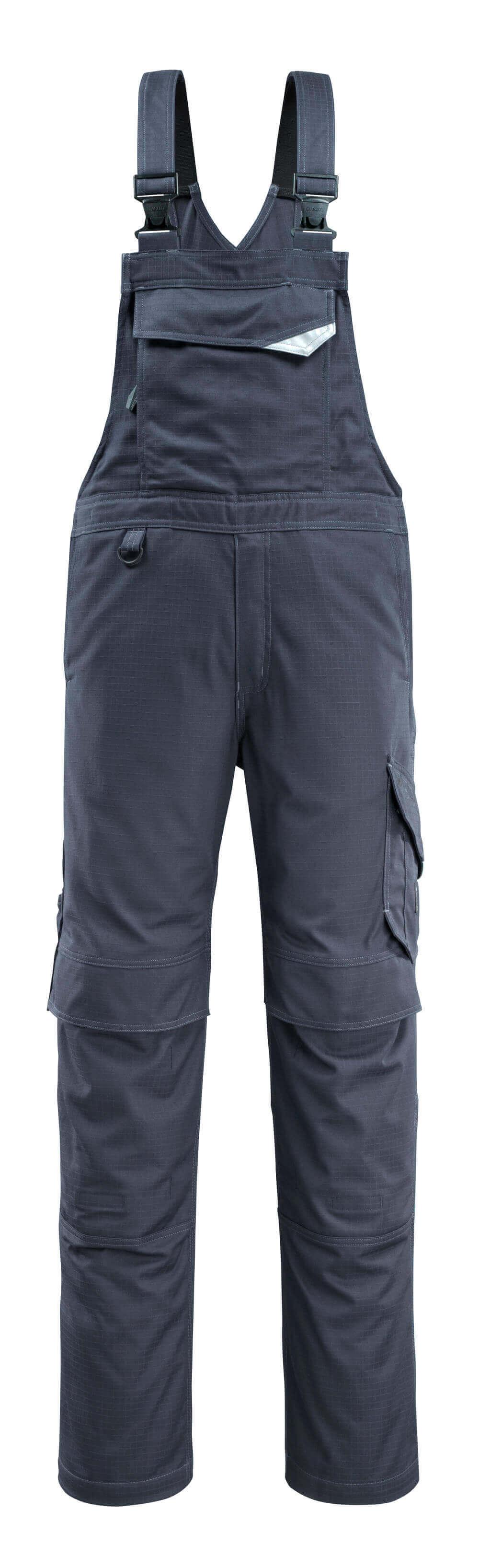 13669-216-010 Peto con bolsillos para rodilleras - azul marino oscuro