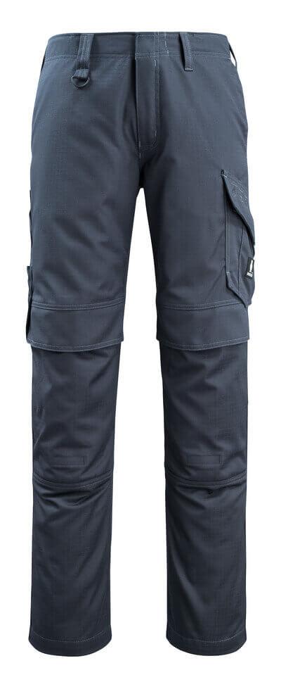 13679-216-010 Pantalones con bolsillos para rodilleras - azul marino oscuro