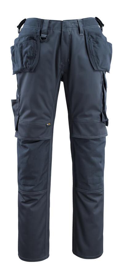 14131-203-010 Pantalones con bolsillos para rodilleras y bolsillos tipo funda - azul marino oscuro