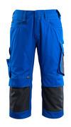 14149-442-11010 Pantalones con longitud de ¾ con bolsillos para rodilleras - azul real/azul marino oscuro