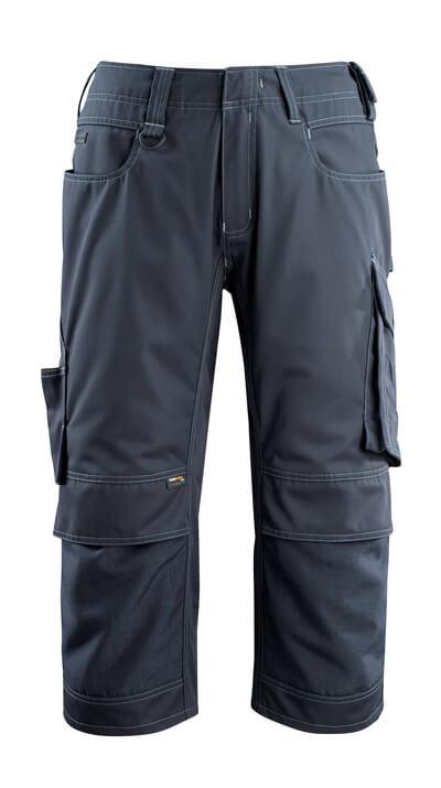 14249-442-010 Pantalones con longitud de ¾ con bolsillos para rodilleras - azul marino oscuro