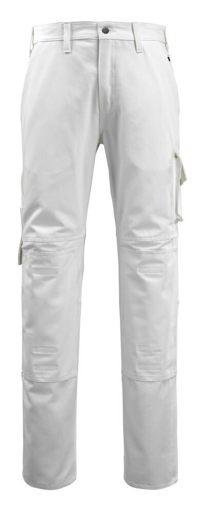 14579-197-06 Pantalones con bolsillos para rodilleras - blanco
