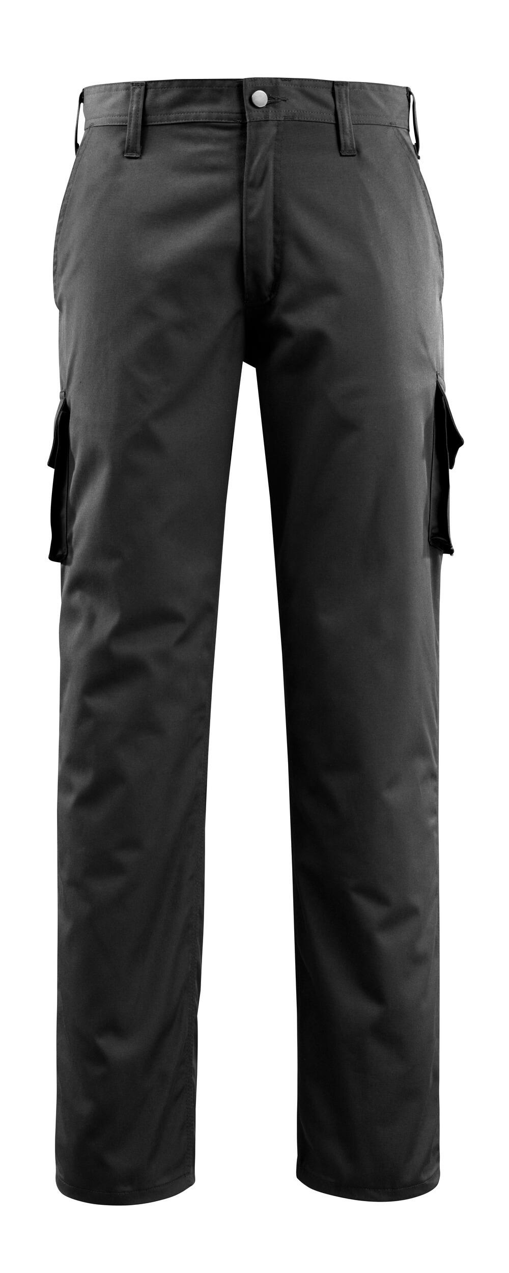 14779-850-09 Pantalones con bolsillos de muslo - negro