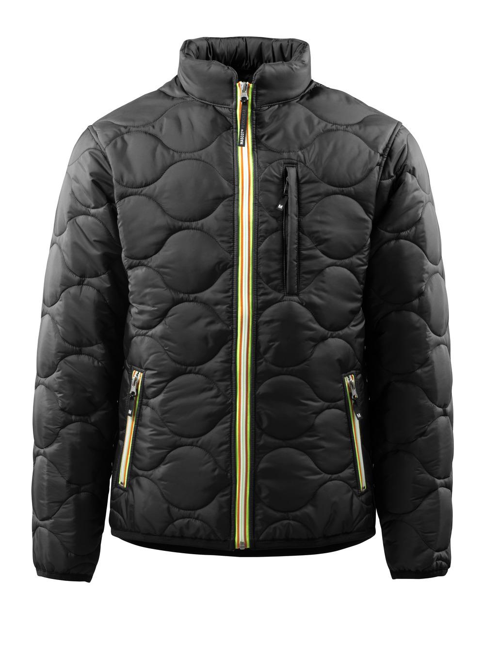15015-998-09 Chaqueta térmica - negro
