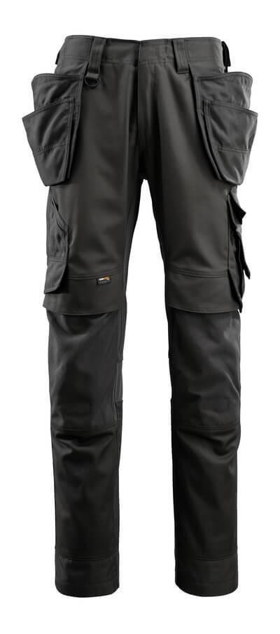 15031-010-010 Pantalones con bolsillos para rodilleras y bolsillos tipo funda - azul marino oscuro