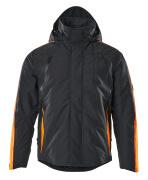 15035-222-01014 Chaqueta de invierno - azul marino oscuro/naranja de alta vis.