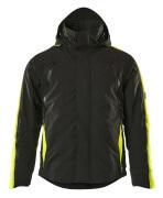 15035-222-0917 Chaqueta de invierno - negro/amarillo de alta vis.