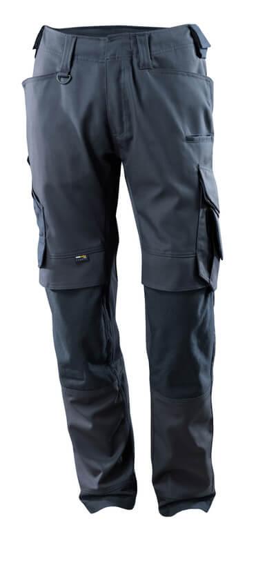 15079-010-010 Pantalones con bolsillos para rodilleras - azul marino oscuro