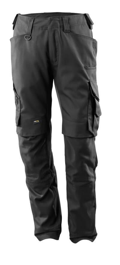 15079-010-09 Pantalones con bolsillos para rodilleras - negro