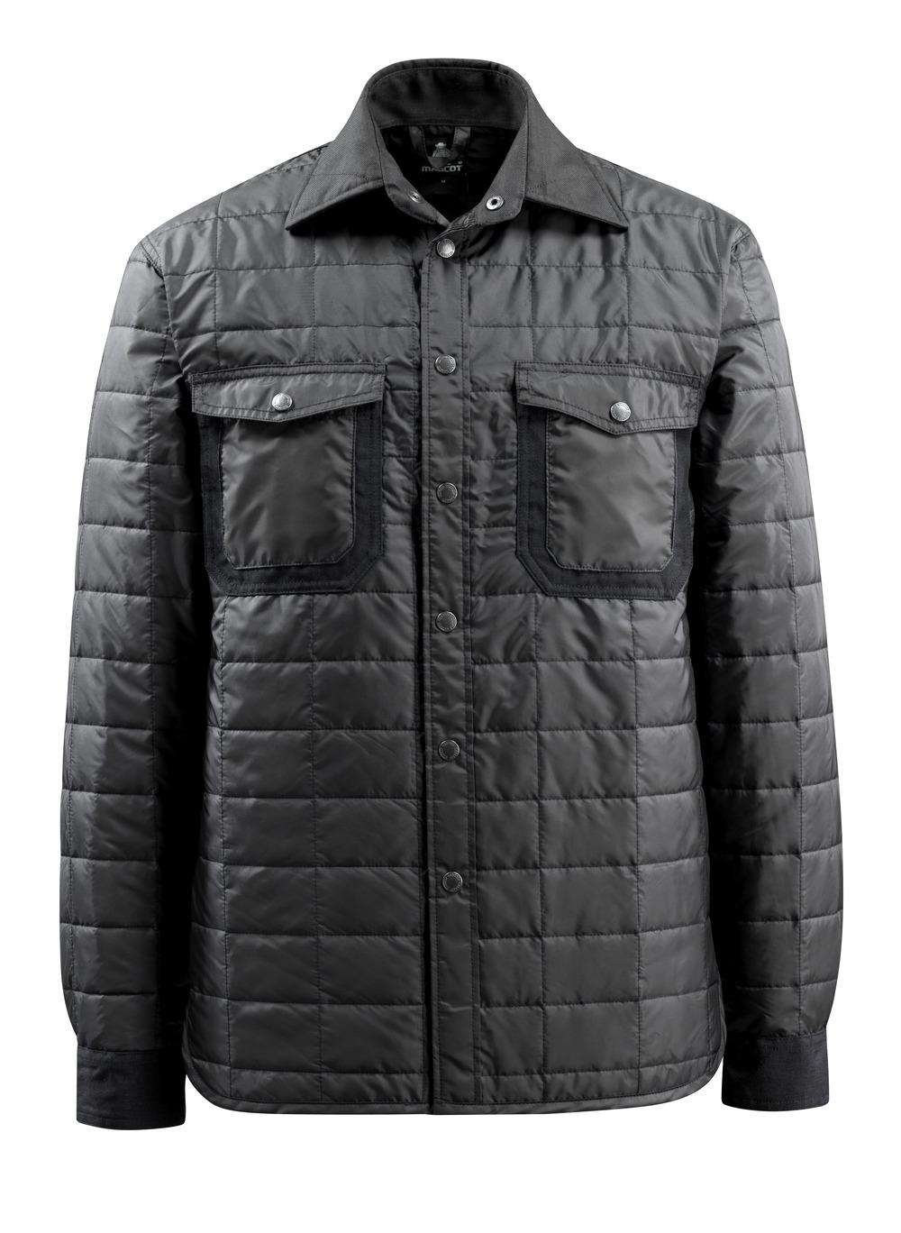 15104-998-09 Camisa con forro - negro