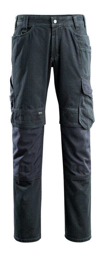 15179-207-86 Vaqueros con bolsillos para rodilleras - azul vaquero oscuro