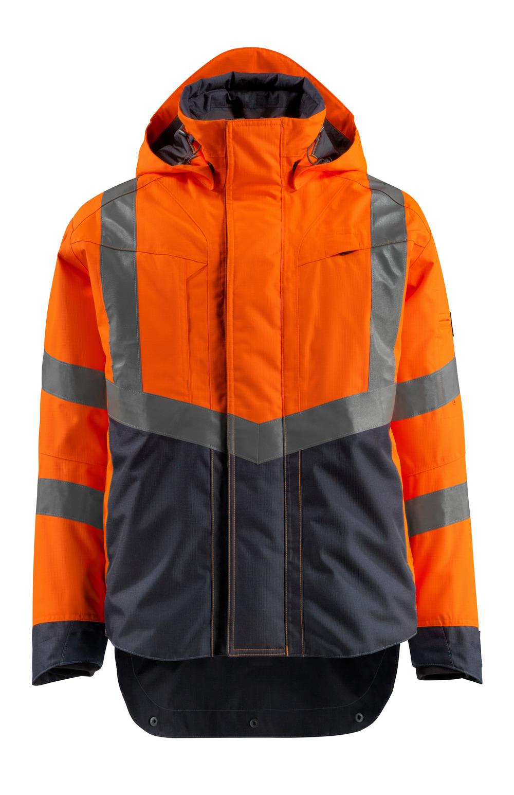 15501-231-14010 Chaqueta con forro exterior - naranja de alta vis./azul marino oscuro