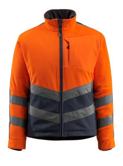 15503-259-14010 Chaqueta polar - naranja de alta vis./azul marino oscuro
