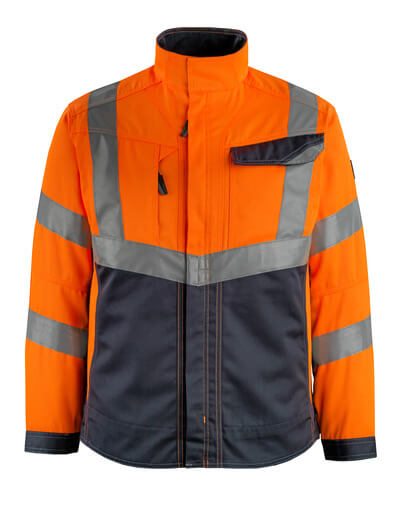 15509-860-14010 Chaqueta - naranja de alta vis./azul marino oscuro