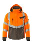 15535-231-1418 Chaqueta de invierno - naranja de alta vis./antracita oscuro
