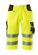 15549-860-1709 Pantalones con longitud de ¾ - amarillo de alta vis./negro