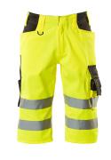 15549-860-1718 Pantalones con longitud de ¾ - amarillo de alta vis./antracita oscuro