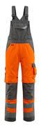 15569-860-1418 Peto con bolsillos para rodilleras - naranja de alta vis./antracita oscuro