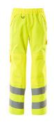 15590-231-17 Cubre pantalón con bolsillos para rodilleras - amarillo de alta vis.