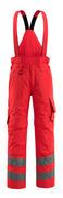 15690-231-222 Pantalones de invierno - rojo de alta vis.
