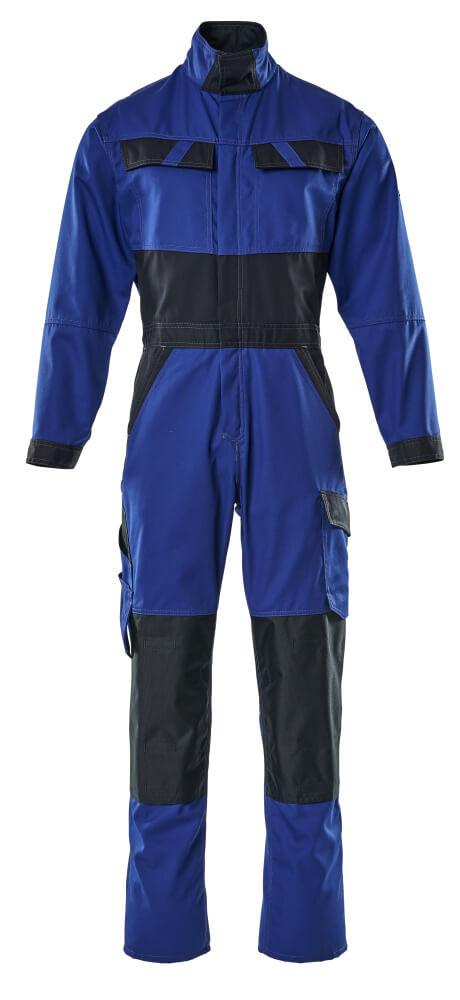 15719-330-11010 Mono con bolsillos para rodilleras - azul real/azul marino oscuro