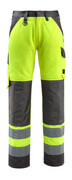 15979-948-1418 Pantalones con bolsillos para rodilleras - naranja de alta vis./antracita oscuro