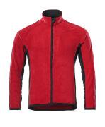 16003-302-0209 Chaqueta polar - rojo/negro