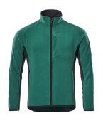 16003-302-0309 Chaqueta polar - verde/negro
