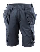 16049-230-010 Pantalones cortos con bolsillos tipo funda - azul marino oscuro